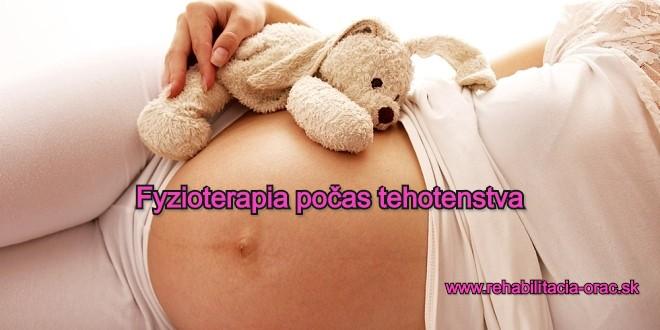 Gynekologická fyzioterapia rehabilitácia pocas tehotenstva